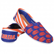 Florida Gators Women's NCAA Slip On Canvas Stripe Shoe Slippers