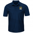 """Manchester City FC Majestic """"Club Seat"""" Men's Short Sleeve Polo Shirt"""