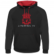 "Liverpool Football Club Majestic ""Armor"" Men's Pullover Hooded Sweatshirt"