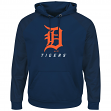 "Detroit Tigers Majestic MLB ""Armor 2"" Men's Pullover Hooded Sweatshirt"