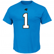 Cam Newton Carolina Panthers Majestic NFL Eligible Receiver III T-Shirt