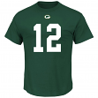 Aaron Rodgers Green Bay Packers Majestic NFL Eligible Receiver III T-Shirt