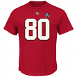 """Jerry Rice San Francisco 49ers Majestic NFL """"HOF Eligible Receiver III"""" T-Shirt"""