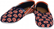 Auburn Tigers Women's NCAA Slip On Canvas Stripe Shoe Slippers