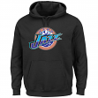 "Utah Jazz Majestic NBA ""Felt Tek Patch"" Men's Hooded Pullover Sweatshirt"