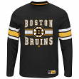"Boston Bruins Majestic NHL ""Forecheck"" Men's Long Sleeve T-Shirt"