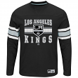 "Los Angeles Kings Majestic NHL ""Forecheck"" Men's Long Sleeve T-Shirt"