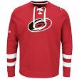 "Carolina Hurricanes Majestic NHL ""Centre"" Men's Pullover Crew Sweatshirt"