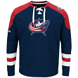 "Columbus Blue Jackets Majestic NHL ""Centre"" Men's Pullover Crew Sweatshirt"