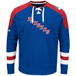 "New York Rangers Majestic NHL ""Centre"" Men's Pullover Crew Sweatshirt"