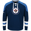 "Winnipeg Jets Majestic NHL ""Centre"" Men's Pullover Crew Sweatshirt"