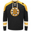 "Boston Bruins Majestic NHL ""Vintage Centre"" Men's Pullover Crew Sweatshirt"