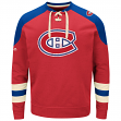 "Montreal Canadiens Majestic NHL ""Vintage Centre"" Men's Pullover Crew Sweatshirt"