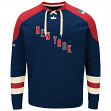 "New York Rangers Majestic NHL ""Vintage Centre"" Men's Pullover Crew Sweatshirt"