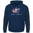 "Columbus Blue Jackets Majestic NHL ""Penalty Shot"" Hooded Therma Base Sweatshirt"