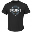 "Boston Bruins Majestic NHL ""Clearing the Puck"" Short Sleeve Men's T-Shirt"