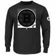 "Boston Bruins Majestic NHL ""Slashing"" Long Sleeve Men's T-Shirt"