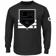 "Los Angeles Kings Majestic NHL ""Slashing"" Long Sleeve Men's T-Shirt"