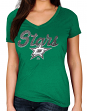"Dallas Stars Women's Majestic NHL ""Match Penalty"" V-neck T-Shirt"