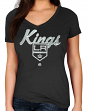 "Los Angeles Kings Women's Majestic NHL ""Match Penalty"" V-neck T-Shirt"