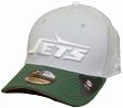 New York Jets New Era NFL 39THIRTY Throwback Logo Gray Neo Flex Fit Hat