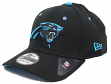 Carolina Panthers New Era NFL 39THIRTY Black Flex Fit Hat