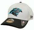 Carolina Panthers New Era NFL 39THIRTY Performance Gray Flex Fit Hat