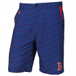"Boston Red Sox MLB ""Dots"" Men's Casual Polyester Walking Shorts"