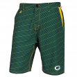 "Green Bay Packers NFL ""Dots"" Men's Casual Polyester Walking Shorts"