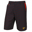 "Chicago Blackhawks NHL ""Dots"" Men's Polyester Casual Walking Shorts"