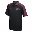 "Mississippi State Bulldogs Adidas NCAA ""Sideline"" Climalite Polo Shirt - Black"