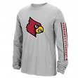 "Louisville Cardinals Adidas NCAA ""Sleeve Play"" Men's Long Sleeve T-shirt"
