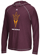 "Arizona State Sun Devils Adidas NCAA ""Loyal"" Men's L/S Hooded Climalite Shirt"