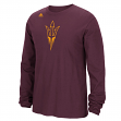 "Arizona State Sun Devils Adidas NCAA ""School Logo"" Men's Long Sleeve T-shirt"