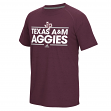 "Texas A&M Aggies Adidas NCAA ""Dassler"" Men's Climalite S/S T-Shirt"