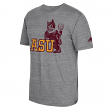 "Arizona State Sun Devils Adidas NCAA ""Brushed"" Men's Tri-Blend Premium T-Shirt"