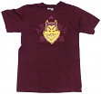 "Arizona State Sun Devils Adidas NCAA ""Raised Edges"" Men's Short Sleeve T-Shirt"