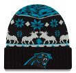 "Carolina Panthers New Era NFL ""Team Mooser"" Cuffed Knit Hat"