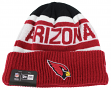 "Arizona Cardinals New Era NFL ""Biggest Fan 2.0"" Cuffed Knit Hat"