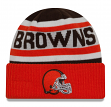"Cleveland Browns New Era NFL ""Biggest Fan 2.0"" Cuffed Knit Hat"