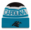 "Carolina Panthers New Era NFL ""Biggest Fan 2.0"" Cuffed Knit Hat"