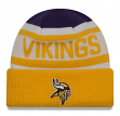 "Minnesota Vikings New Era NFL ""Biggest Fan 2.0"" Cuffed Knit Hat"