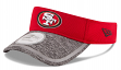 San Francisco 49ers New Era NFL 2016 Training Sideline Performance Visor