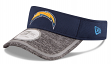 San Diego Chargers New Era NFL 2016 Training Sideline Performance Visor