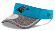 Carolina Panthers New Era NFL 2016 Training Sideline Performance Visor