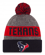 Houston Texans New Era 2016 NFL Sideline On Field Sport Knit Hat - Navy Cuff