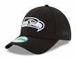"""Seattle Seahawks New Era 9Forty NFL """"The League Black"""" Adjustable Hat"""