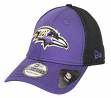 "Baltimore Ravens New Era NFL 39THIRTY ""Team Front Neo"" Flex Fit Hat"