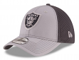 "Oakland Raiders New Era NFL 39THIRTY ""Grayed Out Neo 2"" Flex Fit Hat"