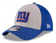 "New York Giants New Era NFL 39THIRTY ""Heathered Gray Neo"" Flex Fit Hat"